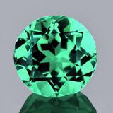 Natural Paraiba Green Apatite 7.06 MM{VVS}