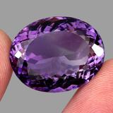 Natural Rich Purple Amethyst 37.09 Cts - VVS