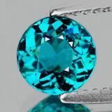 Natural Paraiba Green Blue Apatite 7.04 MM - Untreated