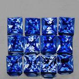Natural Princess Blue Sapphire 12 Pcs[VVS]