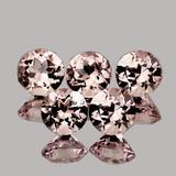Natural Golden Pink Morganite 5 Pcs[Flawless-VVS]