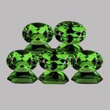 Natural Chrome Green Apatite 5 Pcs (VVS)