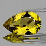 Natural  Yellow Beryl 'Heliodor' 12x8 MM{Flawless-VVS1}