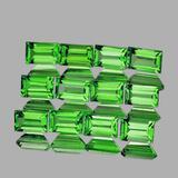 Natural Green Tsavorite Garnet 12 Pcs {Flawless-VVS}