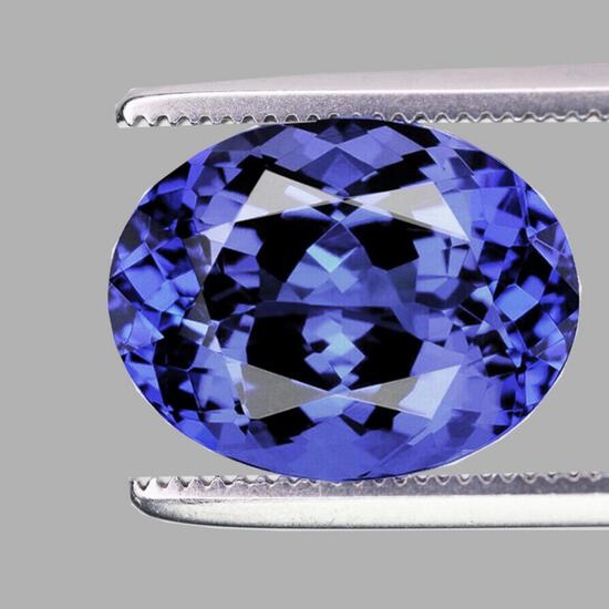 Natural Purple Blue Tanzanite 1.24 Cts{Flawless-VVS1}