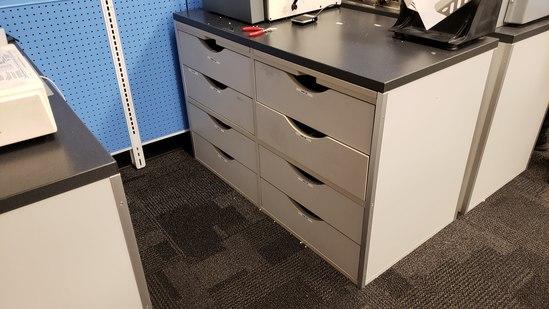 8 Drawer Work Station