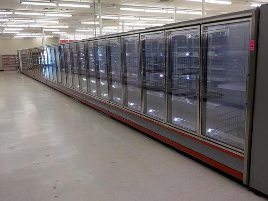 73 Ft 29 Doors Freezer