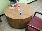 Round Table With Two Chairs