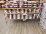 6 Foot Butcher Block Type Top/metro Rack