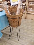Fremch Bread Basket Floor Display