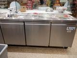 Avantco 3 Door Refrigerated