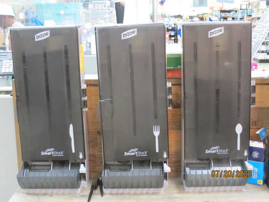 Dixie Smart Stock Cutlery Dispensers