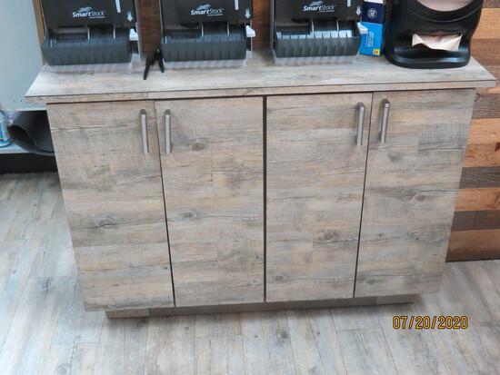 4 Door Wooden Cabinet