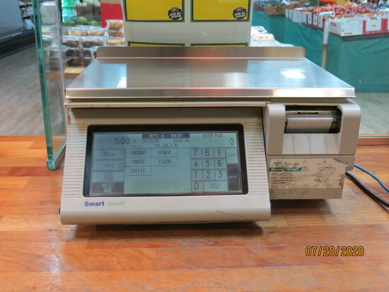 Mettler Smart Touch Scale And Labeler