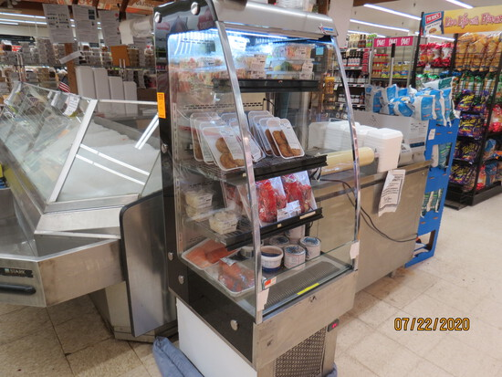 Open Front, Display / Self Serve Cooler.