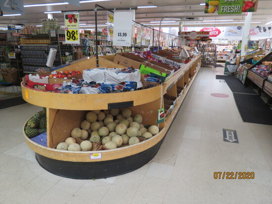 Wooden Produce Display Unit