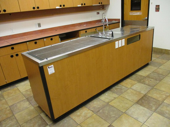Stainless Steel Top - Wet Table