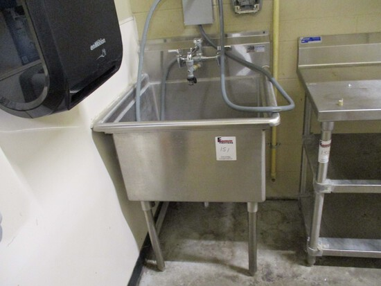 Stainless Steel - Wash Sink