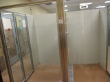 Double Sided Glass Enclosures With Door