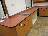Large Cabinet And Counter Top Unit.