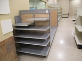16ft Double Sided Rolling Shelving Unit