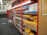 3 - 8ft Sections And 1 - 4ft Section Of Madix Double Sided Hypermax Shelving