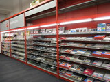 4 - 8ft Secitons Of Madix Single Sided Hypermax Shelving
