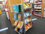 Rolling Shelf Display