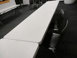 6ft Plastic Top - Folding Leg Table