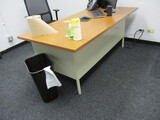 Wooden Top Desk
