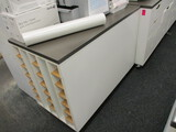 Rolling Graphics Workstation Cabinet