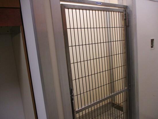 Locking Kennel Door