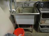 Stainless Steel  Wash Sink - Single Basin