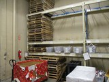 2 Sections of 11ft Pallet Racking