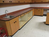 15ft L Shaped Counter with Sink