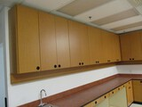 15ft L Shaped Upper Cabinets