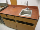 4ft Wooden Cabinet with Sink