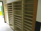 9ft Wooden Cubbie Cabinets