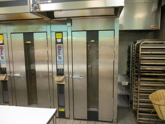 Baxter - Bakery - Rack - Roll-In Oven
