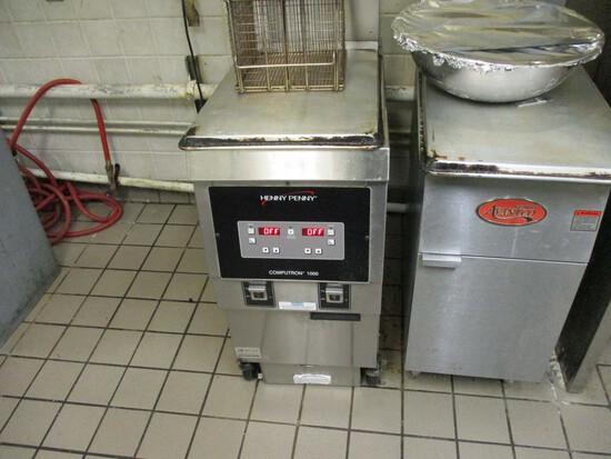 Henny Penny - Single Basket Deep Fryer