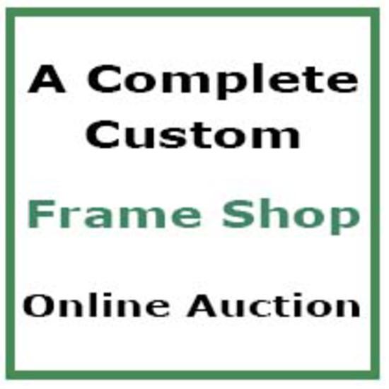 A Custom Frame Shop - Online Auction