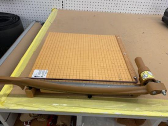 Wooden Paper Cutter