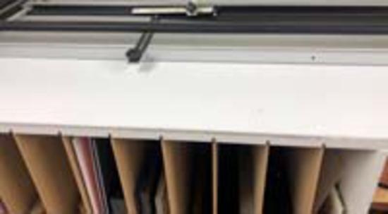 Mat Storage Cabinet