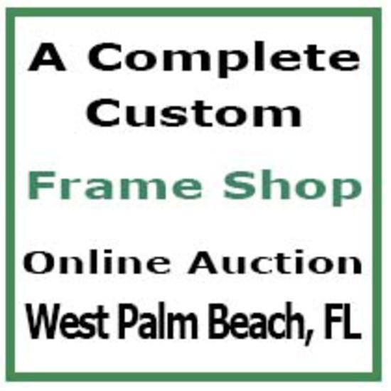 Custom Frame Shop - West Palm Beach, FL - Auction