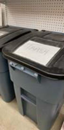 Large Trash Bin