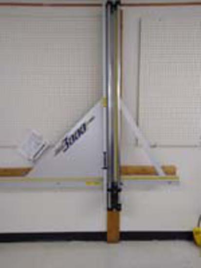 """Fletcher - 60"""" Wall Mounted Material Cutter"""