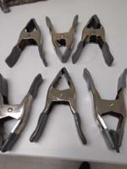 6 Misc. Sizes of Clamps