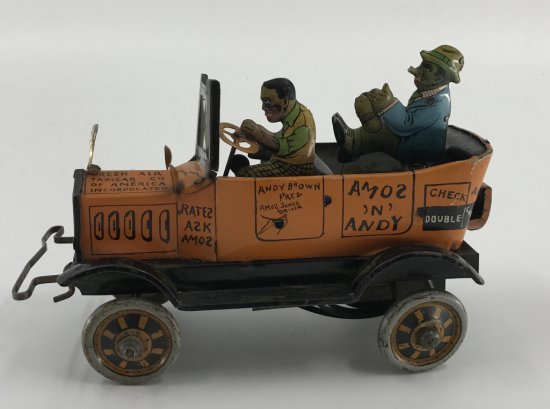 Marx Bros. Amos N' Andy Wind Up Tin Litho Toy