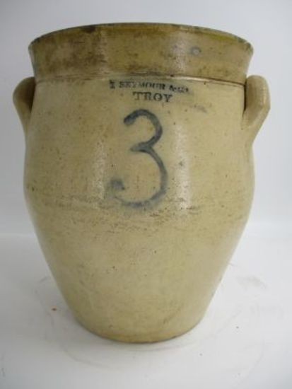 3 Gal. I. Seymour & Co. Ovoid Jar