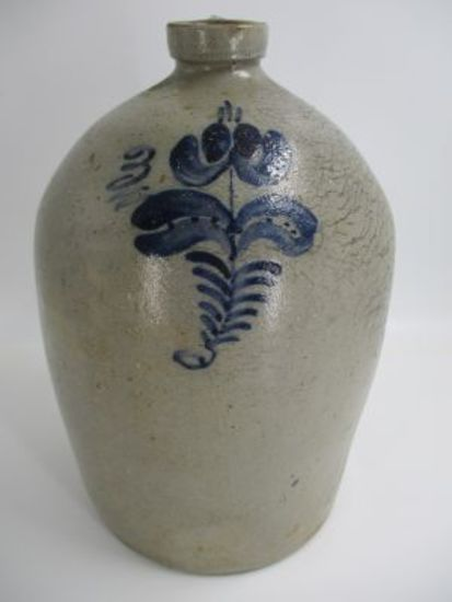 3 Gal. Decorated Beehive Jug